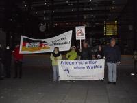 Blockade der Rüstungsfirma Rheinmetall 1